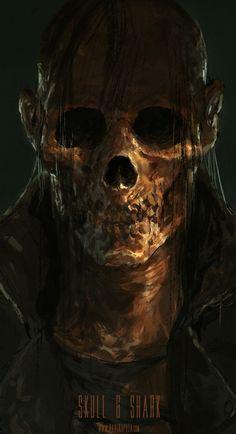 Skull - Skull & Shark / Dave Rapoza