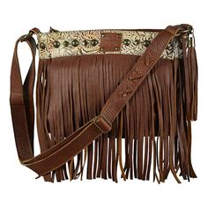 """The Lila"" Handbag in Saddle Brown by STS Ranchwear"