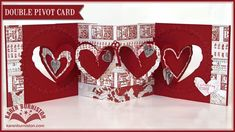 Karen shows how to make a double Heart Pivot Card. Blog Post: http://ecraftdesignsblog.com/2014/11/...