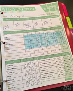 Foster independent learning and accountability in your homeschool with this simple tool.