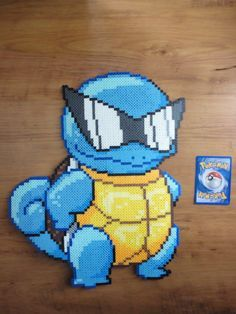 pokemon perler beads squirtle - Google Search