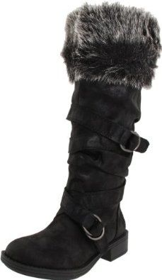 I've always wanted boots with the fur. Bad.
