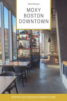 The Moxy Boston Downtown is one of the new additions to the Boston, MA skyline. In this review, we talk about its location, rooms, and facilities.  #boston #hotelreview #bostonma #downtownboston Downtown Boston, Downtown Hotels, University Of Massachusetts, Massachusetts Usa, Hotel Door, Hotel S, Packing List For Vacation, Vacation Trips, Boston Skyline