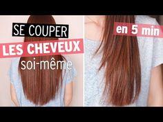 55 Se Couper Les Cheveux Soi Meme Coupe Droite En V En U Et