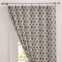 These drapes for my gray and yellow room. #PBTEEN