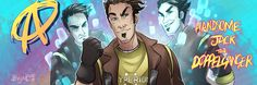 Borderlands: Handsome... Jack? by Bhryn.deviantart.com on @DeviantArt