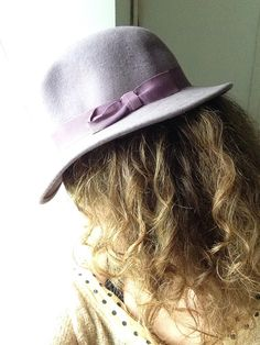 Ladies Purple Felt Hat // Bermona Trend Fedora by MonaBellsVintage Vintage Clothing, Vintage Outfits, Felt Hat, Hats For Women, Vintage Ladies, Purple, Trending Outfits, Lady, Unique Jewelry