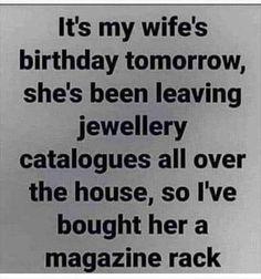 WIFE'S BIRTHDAY - 9GAG
