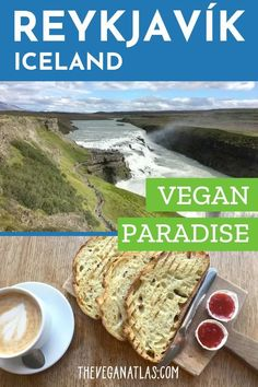 If you're a vegan traveling to Iceland, no worries! Especially in Reykjavik, you'll find plenty of vegan food in restaurants as well as plant-based options in other eateries and in grocery stores. Best Vegan Restaurants, Vegan Food, Vegan Recipes, Vegan Burgers, Turkey Burgers, Coconut Bacon, Afternoon Snacks, Afternoon Tea, Paradise