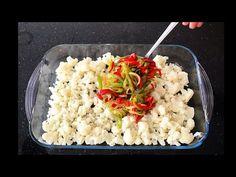 Karnabaharı Bana Sevdiren Tek Yemek😍Bera Tatlidunyasi - YouTube Iftar, Risotto, Cauliflower, Yummy Food, Meals, Vegetables, Cooking, Ethnic Recipes, Kitchen