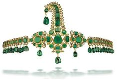 Christie's. Sarpechis a turban ornament that was worn by significant Hindu and Muslim princes.
