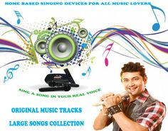 Have you trouble in singing? Are you afraid to give outside little performance cause of you are not good and not singing well. don't worry karaoke music system will help you with Real types music tracks, Large songs collection inbuilt with system, different types of karaoke model as per need. just click www.persangkaraoke.com and get information about right karaoke music system.
