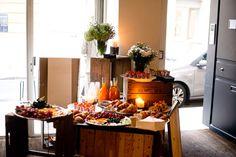 Buyers breakfast event PFW @VoidShowroom