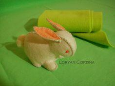 Felt Rabbit - Coniglietto di panno