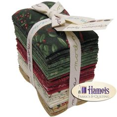 Christmas Spirit BRUSHED FLANNEL Fat Eighth Bundle by Holly Taylor for Moda