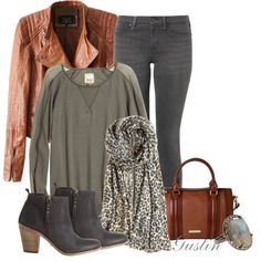 """""""black and brown"""" by stacy-gustin on Polyvore"""