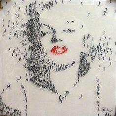 People as pixels - Craig Alan.