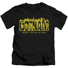 Gotham/Silhouettes-Black