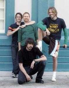 Foo Fighters  Nate Mendel Chris Shiflett Taylor Hawkins Dave Grohl