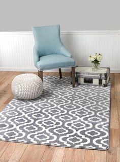 summit no27 new moroccan gray trellis rug modern abstract rug 22 inch x
