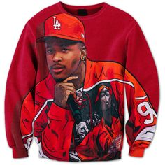 YG Crewneck ($65) ❤ liked on Polyvore featuring accessories