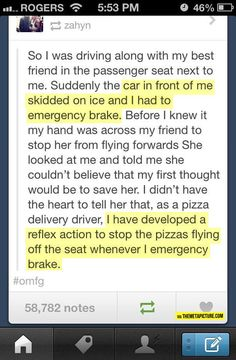 Pizza saves lives // funny pictures - funny photos - funny images - funny pics - funny quotes - #lol #humor #funnypictures