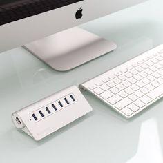 Fancy - Satechi 7 Port USB 3.0 Premium Aluminum Hub