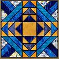 Illinois Blues Pattern