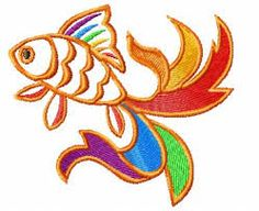 Image result for rainbow embroidery design