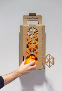 Dispensador de naranjas... #DiseñaTuVida