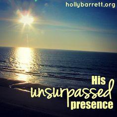 Ushered into His unsurpassed presence with great joy {SSMT} | Holly Barrett #BigRedSofa #SSMT #ReclaimingaRedeemedLife