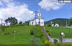 Chapel on the hill in Brazil - Minas Gerais - Gameleira Town