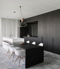 Fotografie van nieuwbouwwoning voor architect. © foto's Liesbet Goetschalckx