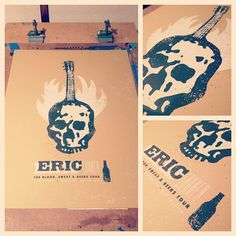 Eric Church Topeka, KS poster