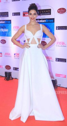 Deepika Padukone at the HT Style Awards 2015.