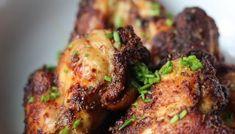Kruidige chicken wings