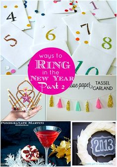 Great Ideas  Ring in the New Year: Part TWO!!