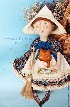 Купить Феечка домашняя - коричневый, бирюзовый, ведьмочка, колдунья, феечка, хозяюшка, подарок на любой случай