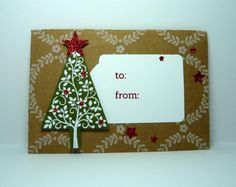 Festive Gift Card Holder by dahlia19 - Cards and Paper Crafts at Splitcoaststampers