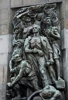 Warsaw Ghetto Monument - One of the many horrors of WWII