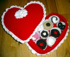 Box of ChocolatesGuilt Free, Calorie Free!Crochet Play food
