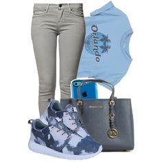 A fashion look from July 2014 featuring Peoples Market jeans, NIKE sneakers and Michael Kors tote bags. Browse and shop related looks.