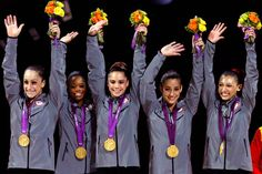 Best gymnastics action from 2012 Games - US won Gold