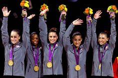 Team U.S. gymnasts wins Gold
