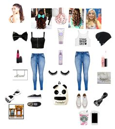 """Untitled #65"" by amber-blehm on Polyvore featuring Pilot, City Chic, Converse, Vans, Burton and MAC Cosmetics"