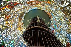 Hakone – Japan's Amazing Open Air Museum ~ Kuriositas Inside Stained Glass Tower