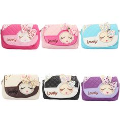 New Kids Children Girls Princess Pretty Lovely Handbag Rabbit Shoulder Bags Messenger Bag