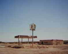 Big Chief Gas Station, New Mexico, 2015 Jane Hilton