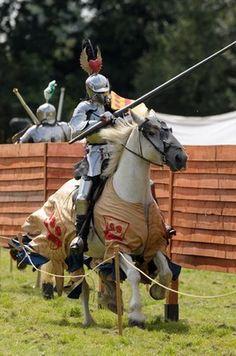 Knights Jousting - The Tilt