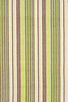 #DashAndAlbert Margarita Ticking Woven Cotton Rug